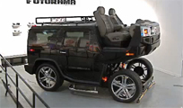 Hummer H2 Converted into a Horse Drawn Carriage