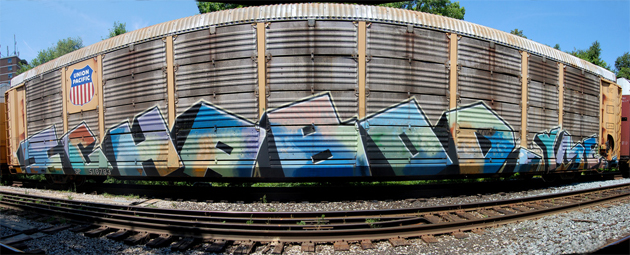 ichabod autorack graffiti end to end