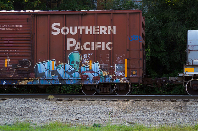 ichabod graffiti boxcar