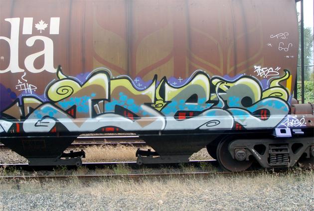 ides freight graffiti