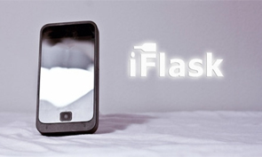 A Flask that Looks Like an iPhone