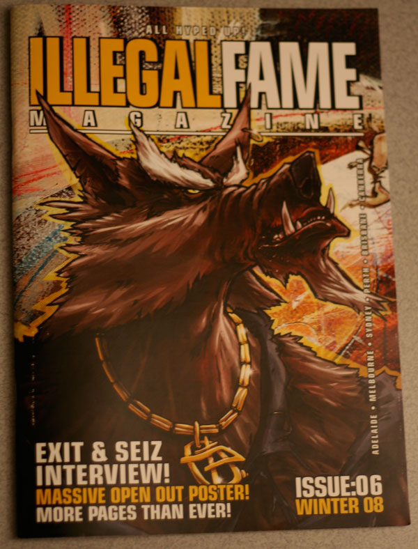 illegal fame issue 06 Cover