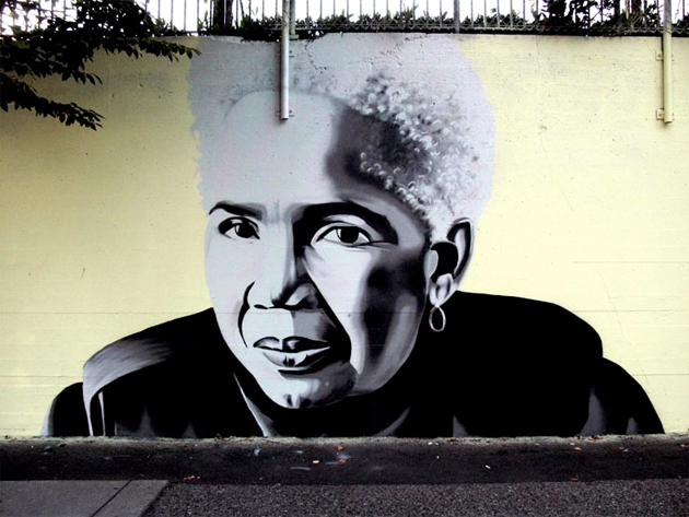 indigo graffiti