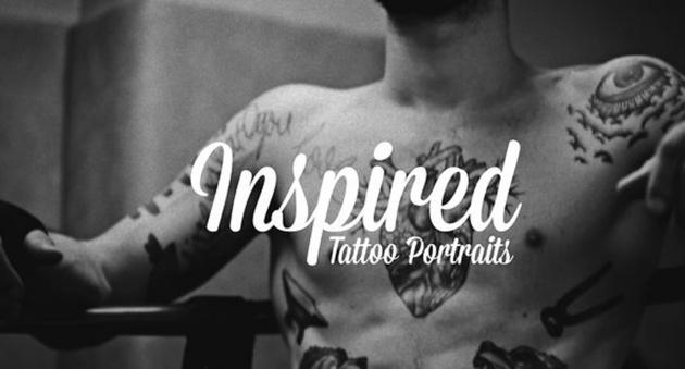 inspired tattoo portraits