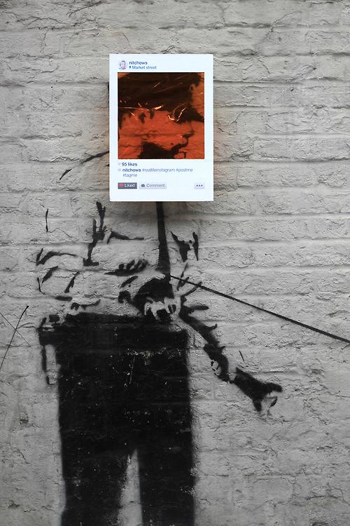 instagram graffiti stencil