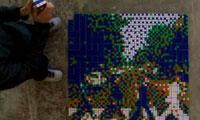 Space Invader – Rubik's Cubes