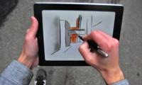 Paper Drawing iPad App