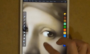 Impressive Painting on an iPad