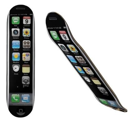 iPhone Skateboard Deck