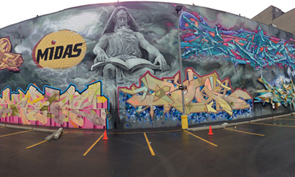 iPhone 5 Panorama Graffiti Photos
