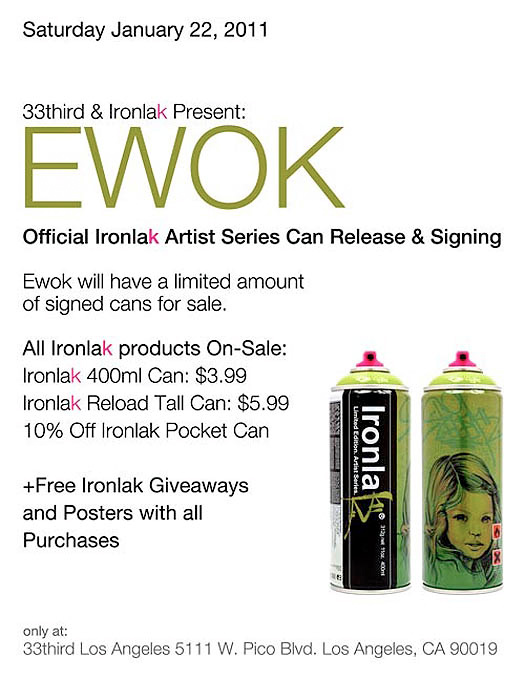 ironlak can ewok