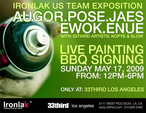 Ironlak Team in LA