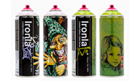 New Limited Edition Ironlak Cans