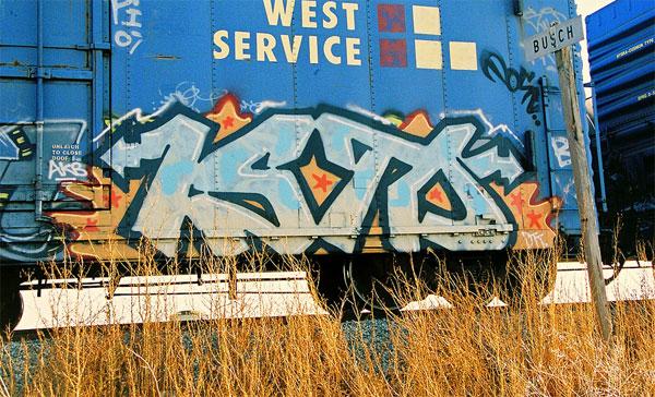 Isto Freight Graffiti