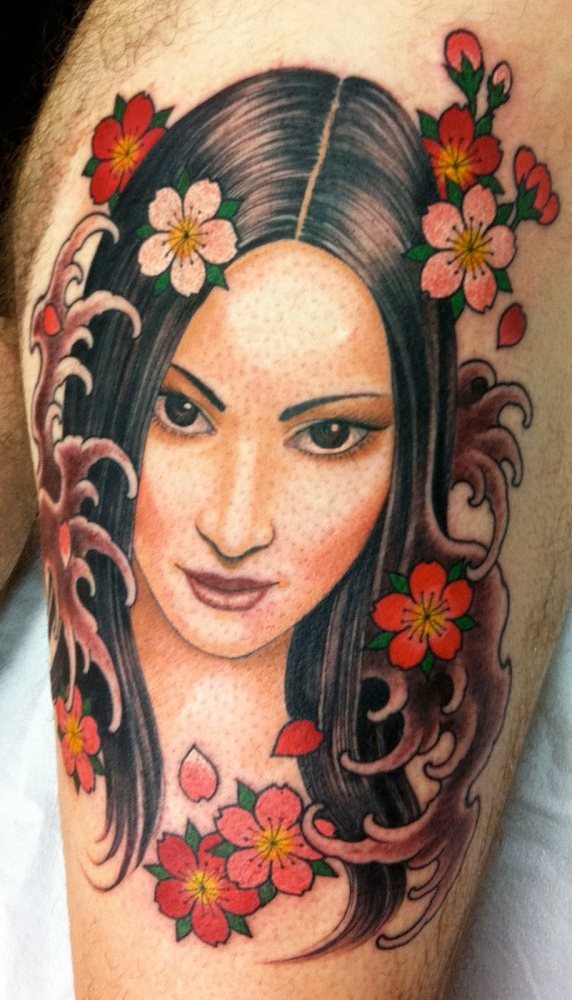 Tattoo tuesday no 149 senses lost for Asian face tattoos