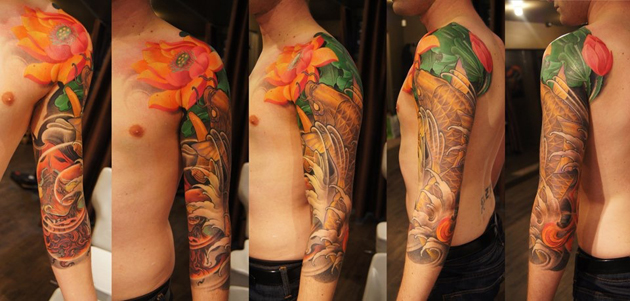 japanese sleeve by tristen zhang