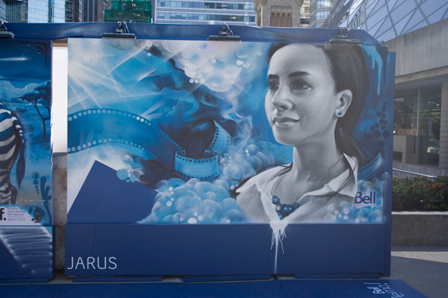 jarus graffiti painting tiff 2012