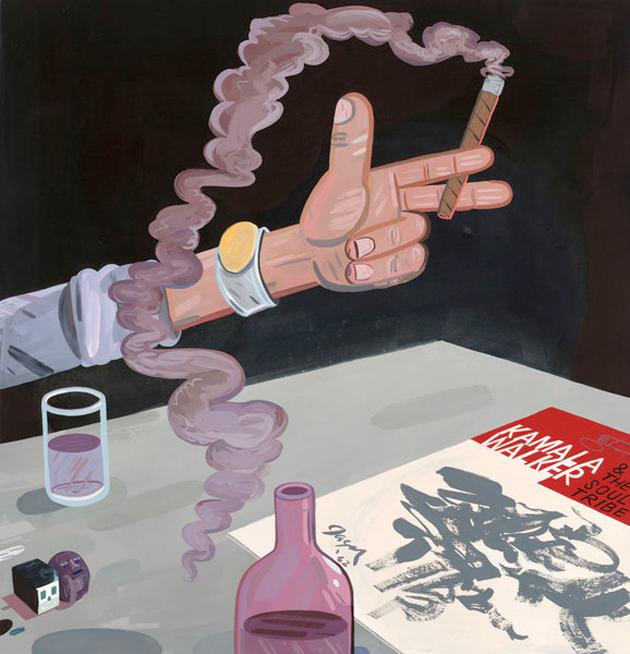 jason jagel illustration cigar