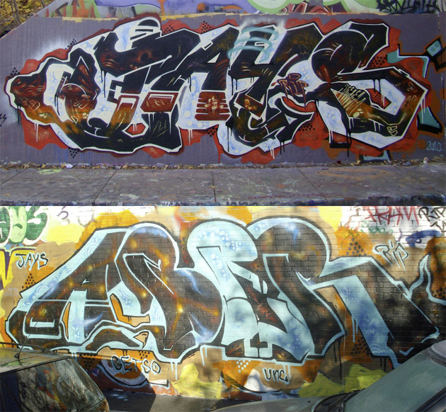 jays aber rip graffiti