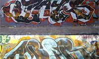 Jays & Aber Tribute Graffiti
