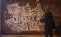 Winter Graffiti in Montreal