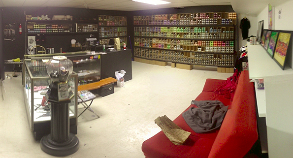 Joe Huffer's Paint Shop in Toronto Canada