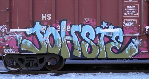johste graffiti
