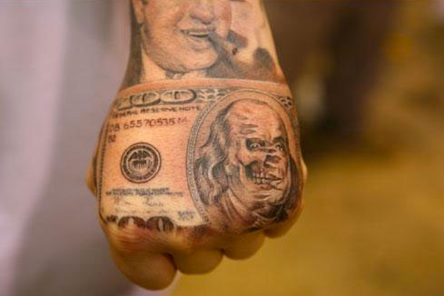 Tattoo tuesday no 160 senses lost for 20 dollar tattoos