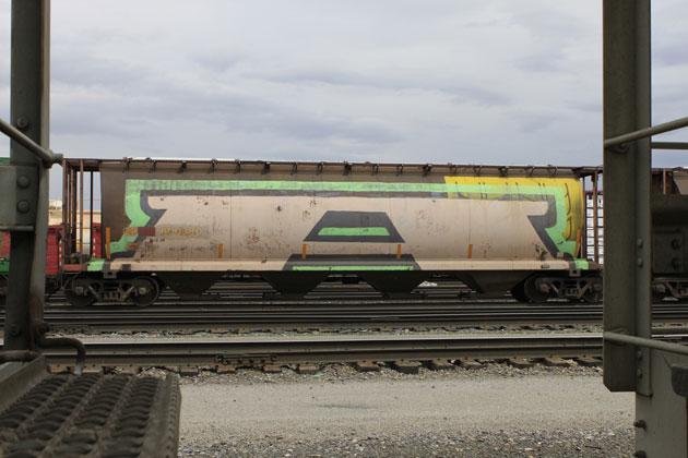 k6a wholecar freight graffiti