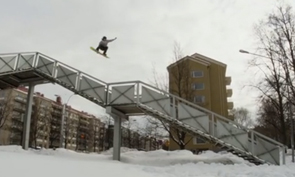 Kalle Ohlson Snowboarding Video