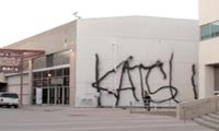 Katsu Graffiti on MOCA in LA