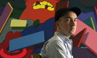 Kaws in the LA Times