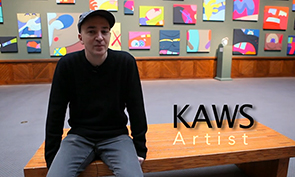 Kaws Video Interview