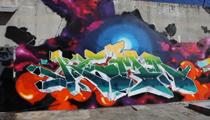 Kem5 Graffiti in Miami