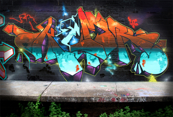 kem5 graffiti