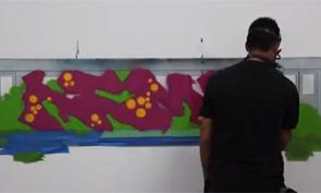 Kems Graffiti Time-lapse