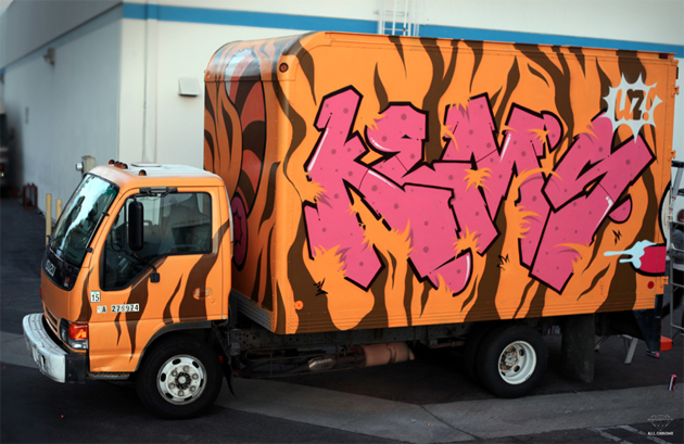 kems graffiti truck
