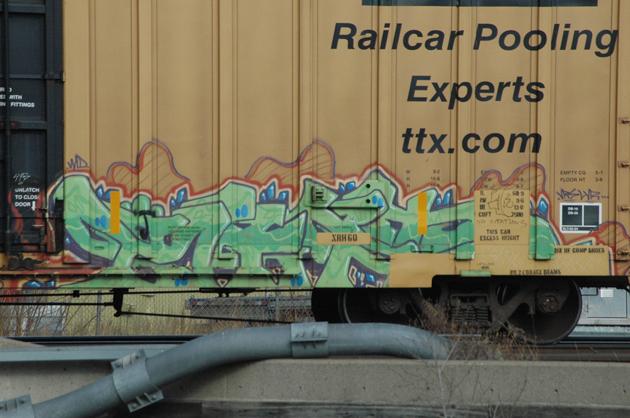 keptoe graffiti boxcar
