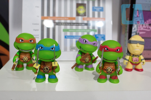 kidrobot ninja turtles series