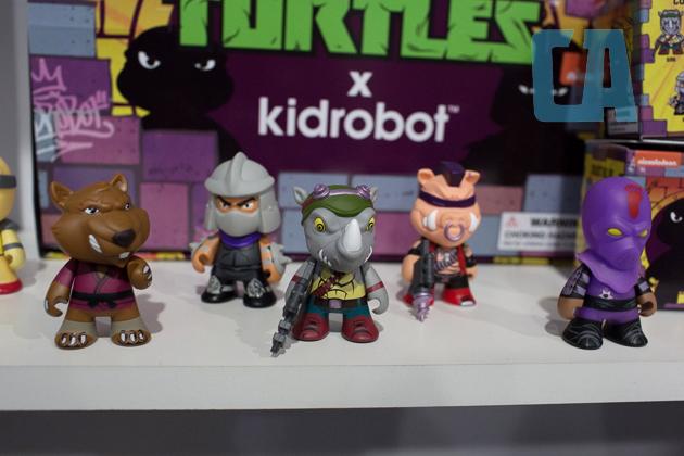 kidrobot ninja turtles toys