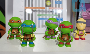 Kidrobot Teenage Mutant Ninja Turtle Vinyl