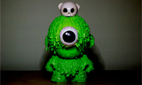 The Making of Toxie Munny by JamFactory
