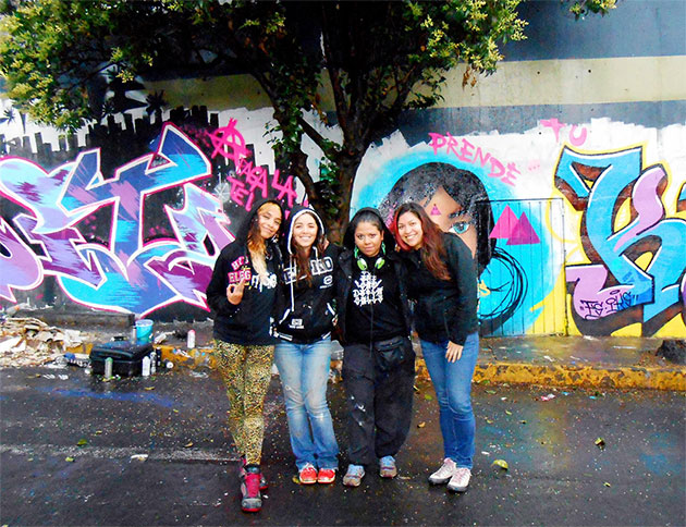 kif graffiti girls