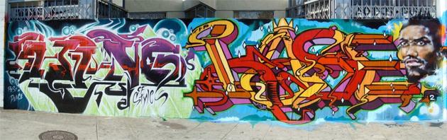 king kase tribute graffiti
