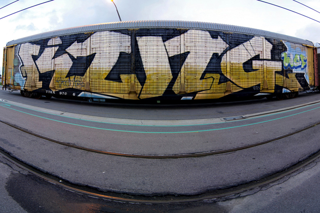 king wholecar graffiti freight