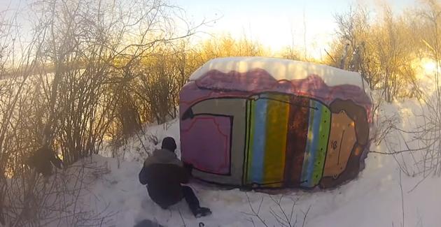 kita winter painting