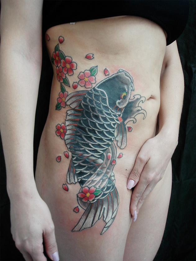 For this week 39s Tattoo Tuesday we came across this large Japanese Koi fish