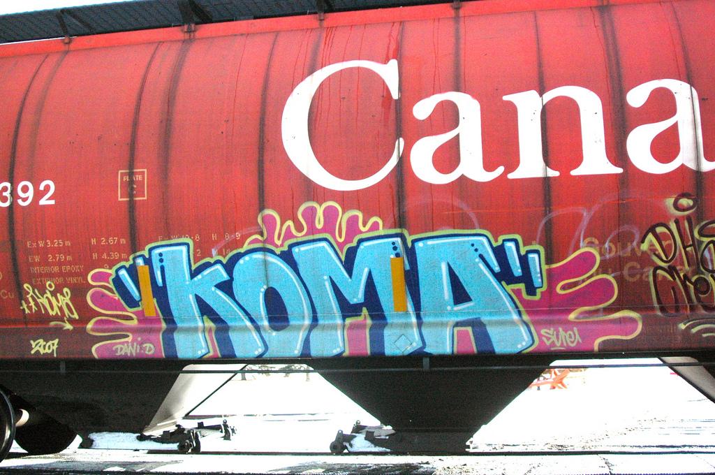 koma dhs graffiti