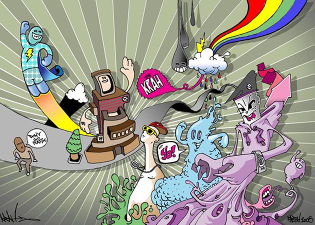 The Krah character illustration