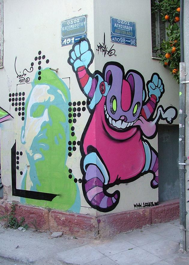 The Krah wall painting